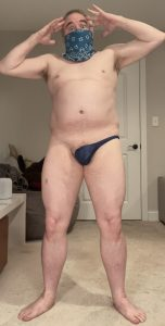 Sangroid5k stripped to his underwear